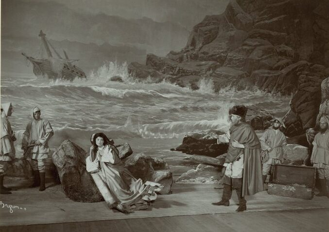 Photograph of a stage production of Twelfth Night