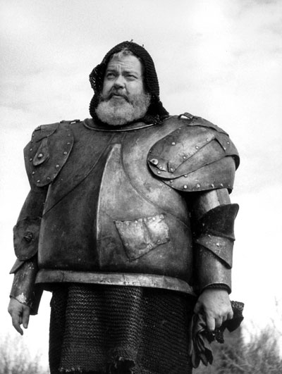 Orson Welles as Falstaff in Chimes at Midnight