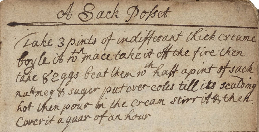 posset recipe