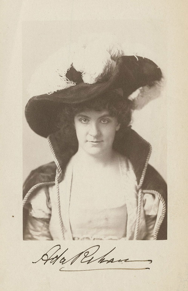 Photograph of Ada Rehan in The Taming of The Shrew