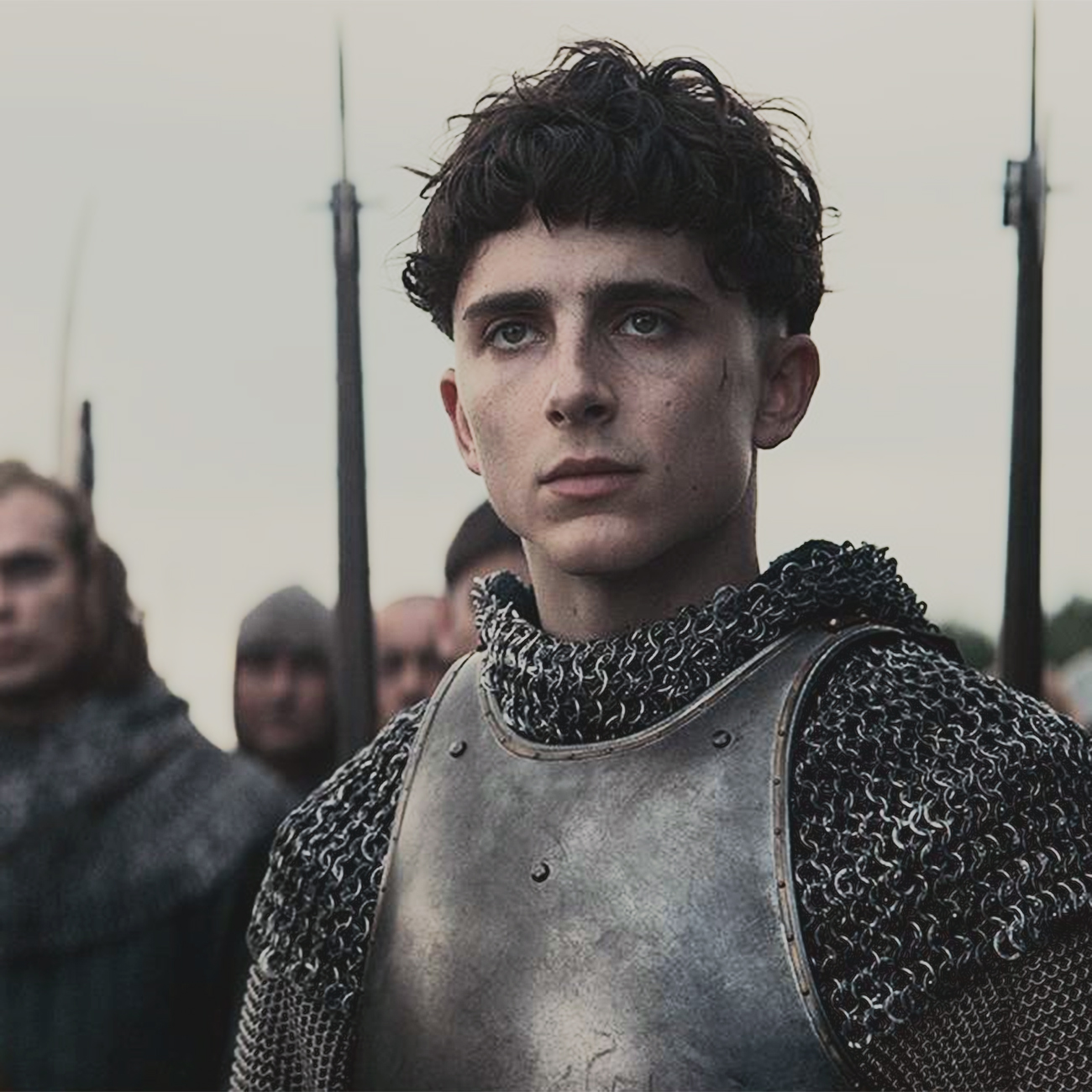 """Timothée Chalamet in """"The King,"""" from Netflix."""