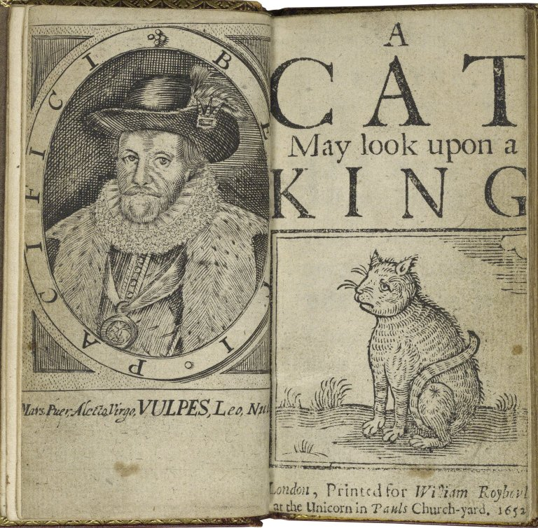 A Cat May Look Upon a King title page