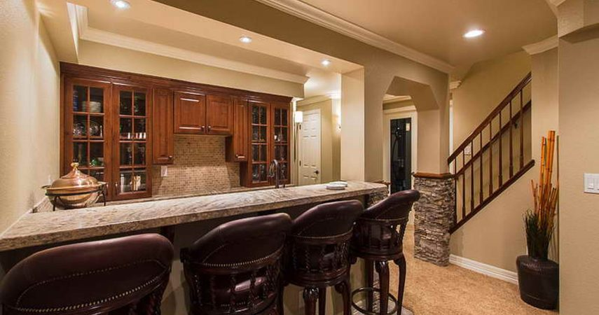 Basement Remodel - Bar