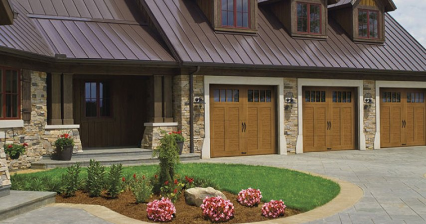 Clopay Canyon Ridge Garage Ultragrain