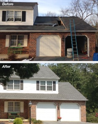 2nd Story Master Bedroom Suite Addition Project – Lancaster, PA