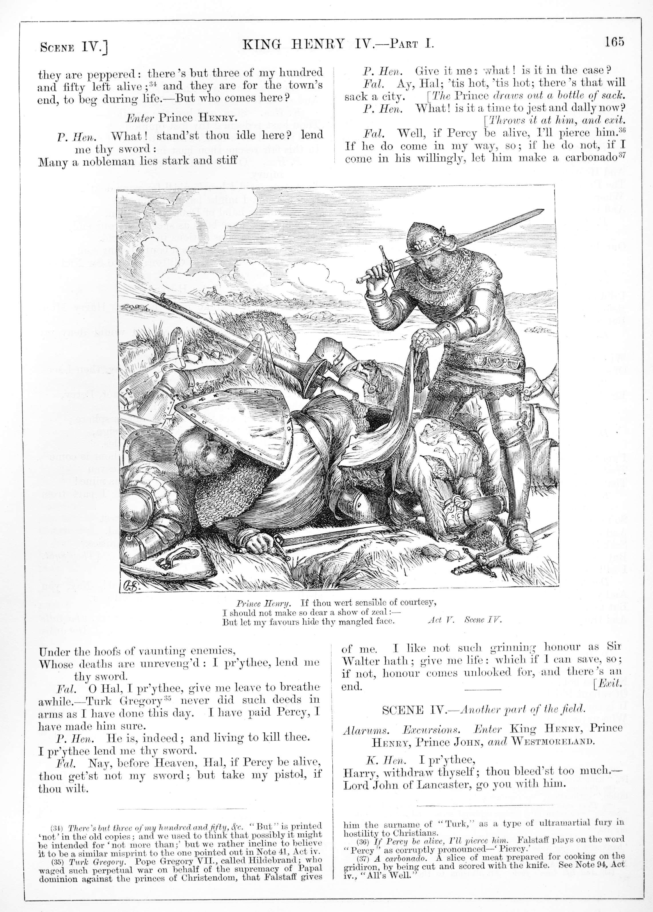 H. C. Selous, King Henry IV Part I, Illustration #16