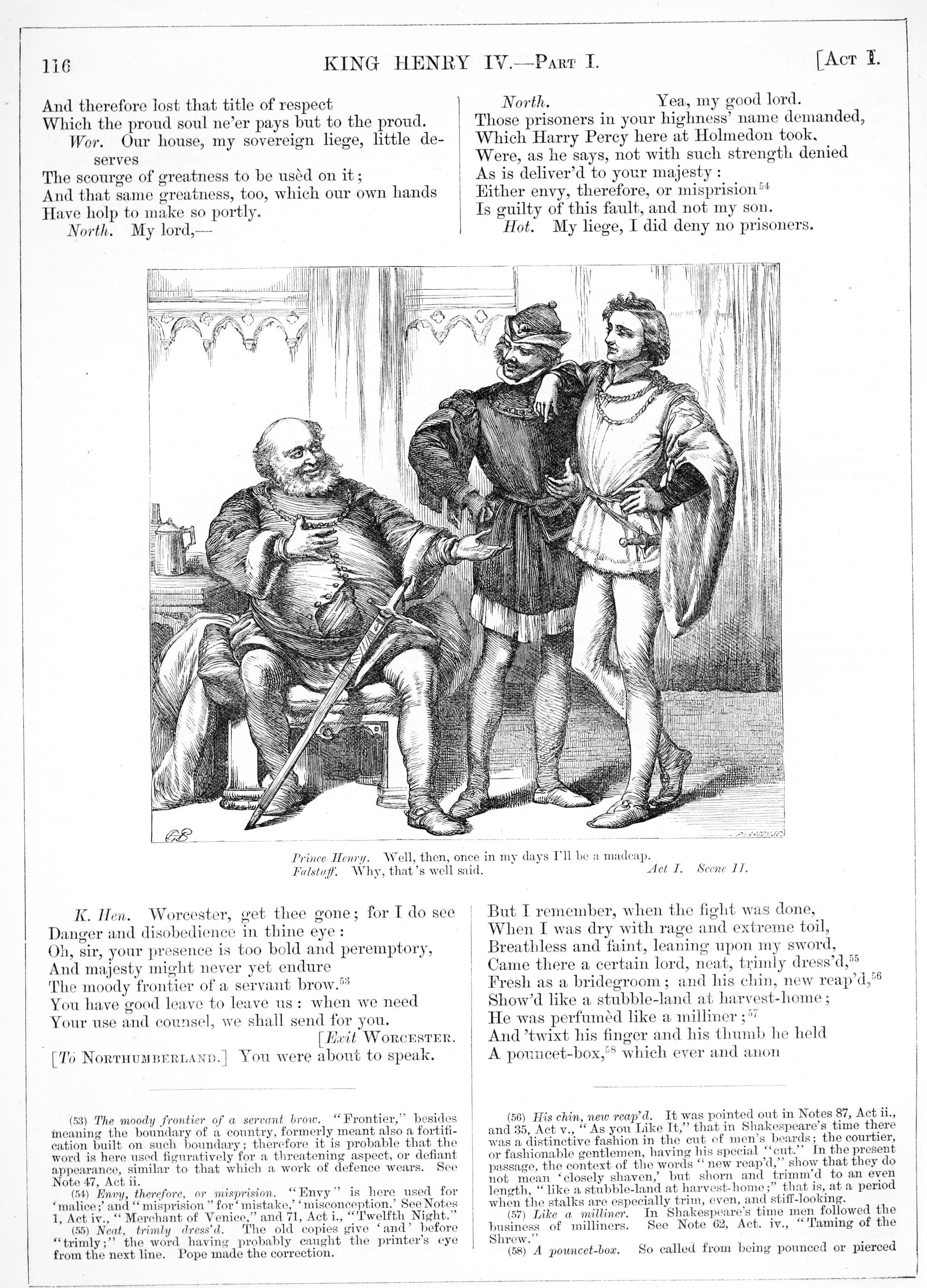 H. C. Selous, King Henry IV Part I, Illustration #3