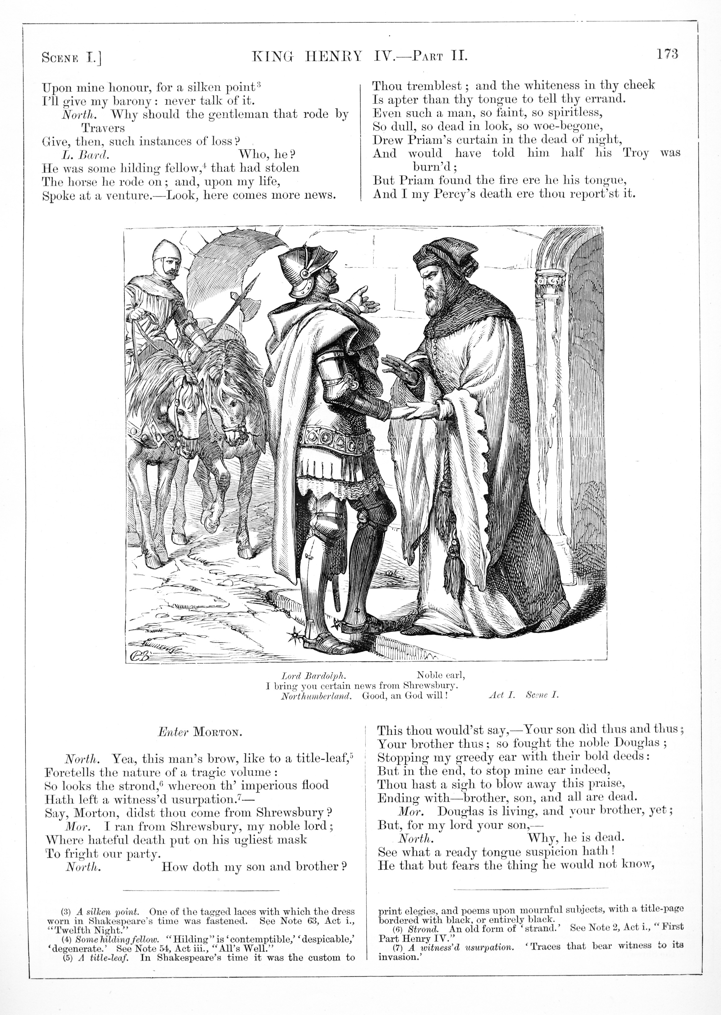 H. C. Selous, King Henry IV Part II, Illustration #3