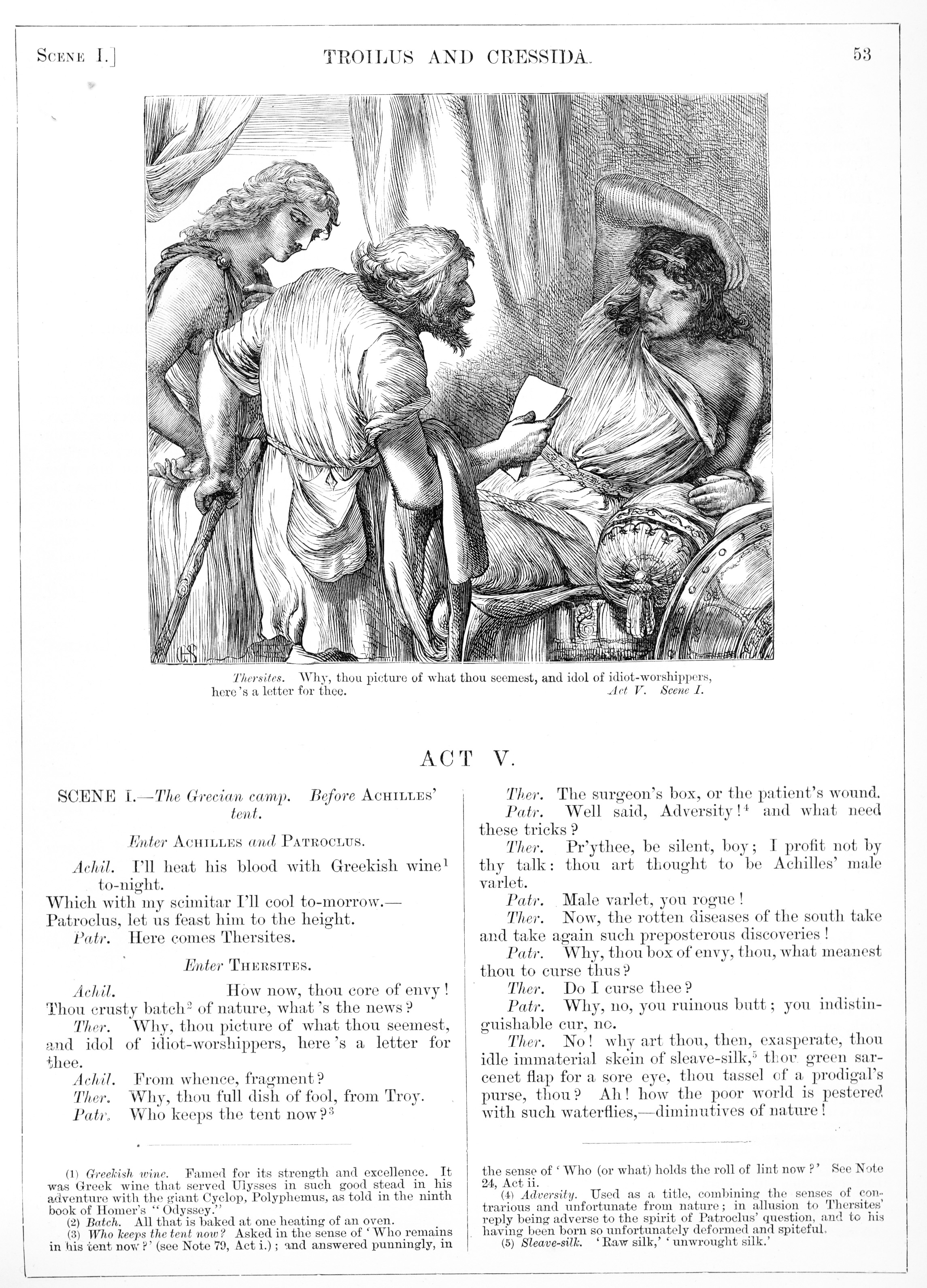 H. C. Selous, Troilus and Cressida, Illustration #15