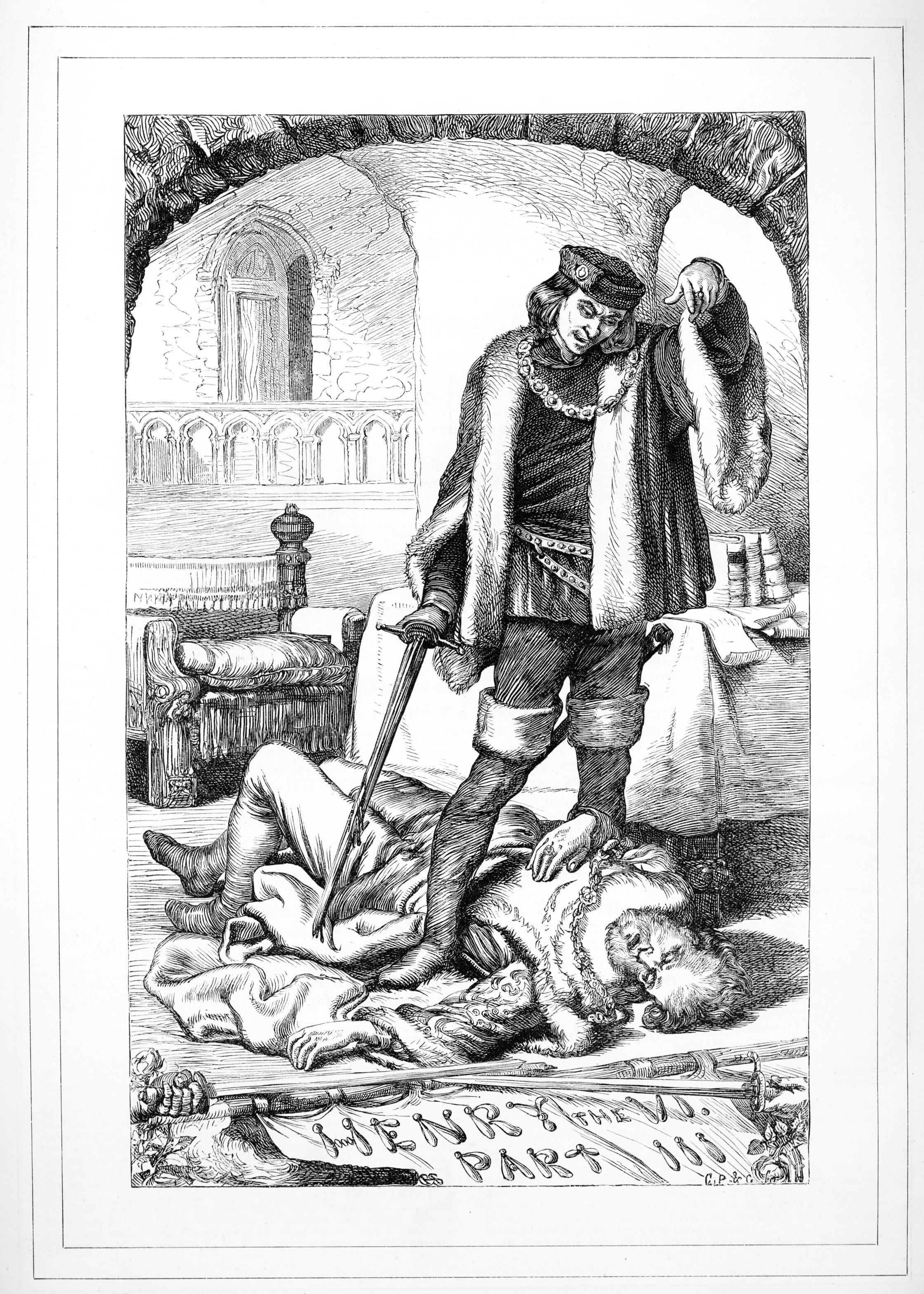 H. C. Selous, King Henry VI Part III, Illustration #1