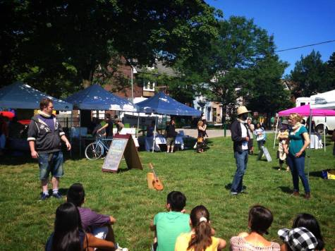 Guerrilla Ruffians at the Withrow Park Farmer's Market