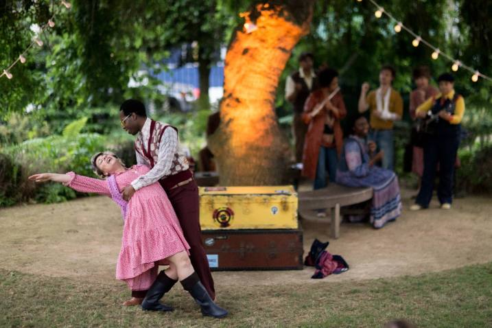 As You Like It (2018). Photograph by James Millar