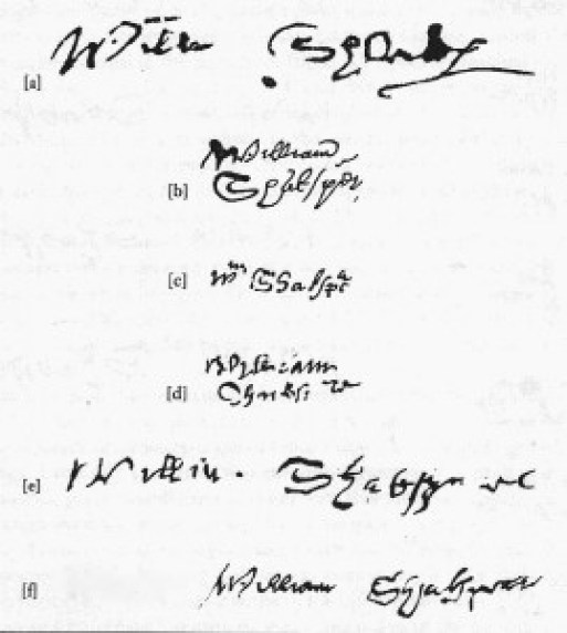 shakespeare- signatures edtd