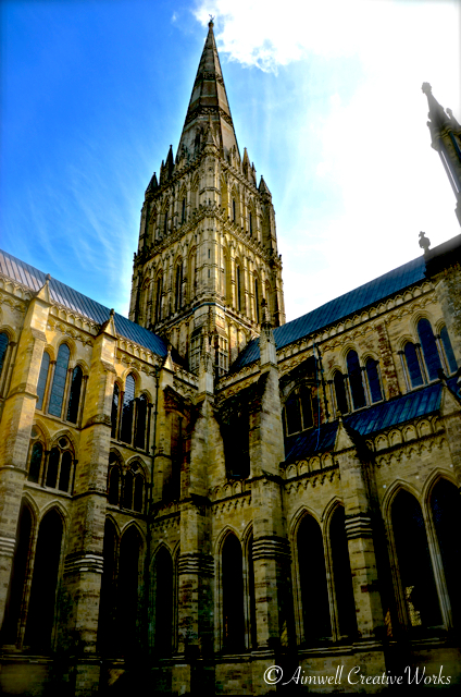 A token outdoor image to show the impressive spire ... the tallest in England at 404ft/123m ...