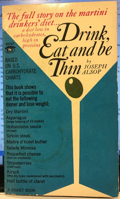 Martini diet book