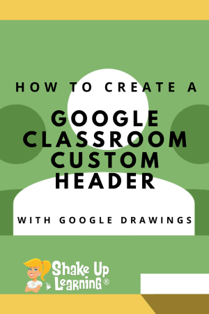 Create a Header Image with Google Drawings