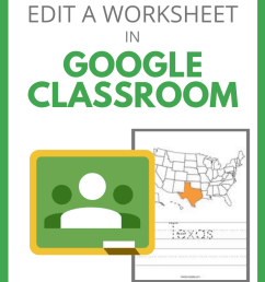 Stop Asking How to Put a Worksheet in Google Classroom - SULS018   Shake Up  Learning [ 1102 x 735 Pixel ]