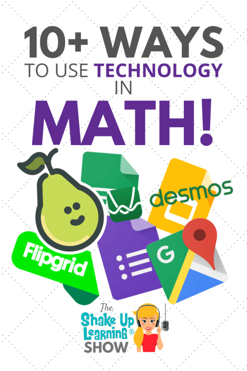 small resolution of 10+ Ways to Use Technology in the Math Classroom - SULS037   Shake Up  Learning