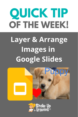 How to Layer and Arrange Images in Google Slides