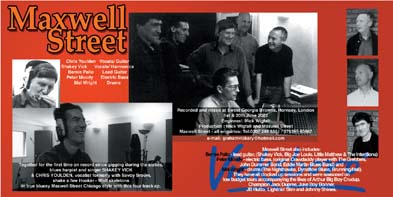 Picture of Maxwell Street's Movin' Along booklet cover