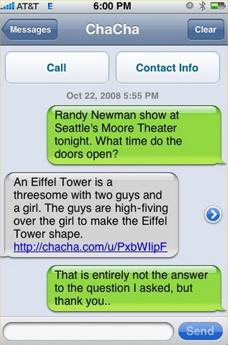 SMS Fail. Or not. (1/2)