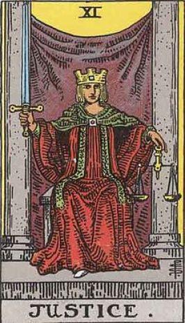今週のビジョン:Justice:タロットカード大アルカナ:出会いと別れ・自分の中の不要なものとの決別の時期。公私関わらず、揺るがすエネルギーに突き動かされる。宇宙の示す道に正誤の判断を与えるよりも、開ける扉と考えて開運へ。