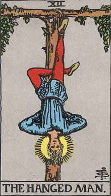 Tarot Major arcana 12 Hanged Man