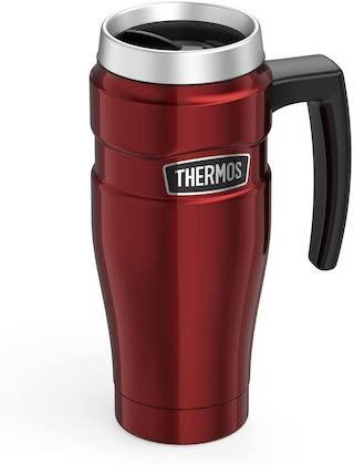 thermos mug red