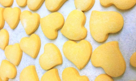 Easy Shortbread Recipe for your Postpartum Diet