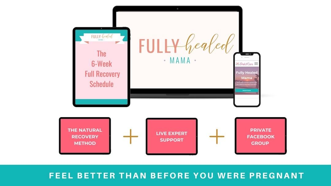 what's included in Fully Healed Mama