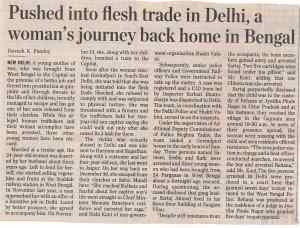 Pushed into flesh trade in Delhi, a woman's journey back home in Bengal