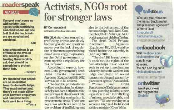 ACTIVIST NGO ROOT FOR STRONGER LAW