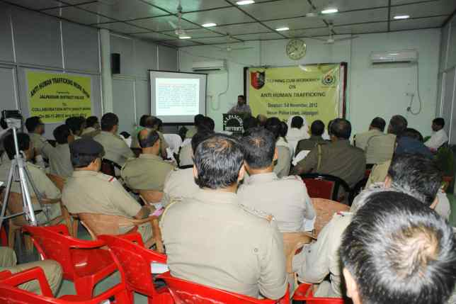 POLICE TRAINING PROGRAMME JALPAIGURI WEST BENGAL - SHAKTI VAHINI