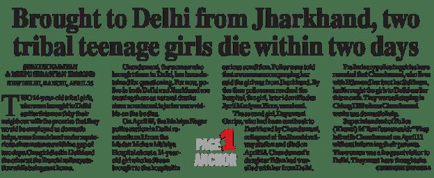 Two girls die