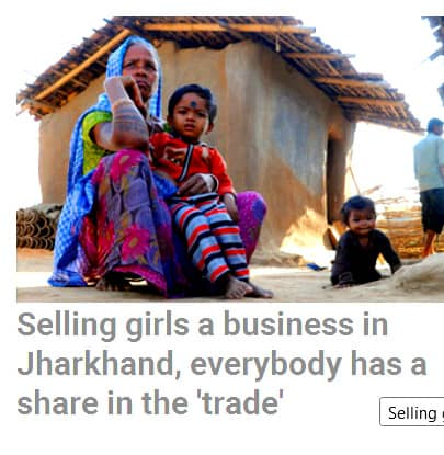 jharkhand Trafficking