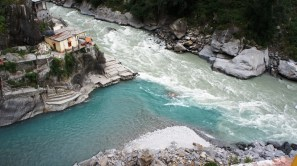 Rudraprayag. Confluence of Alaknanda and Mandakini tributaries of Ganges