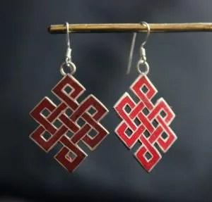 Tibetan Silver Jewelry - Loveknot