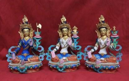 21 taras Tibetan Statues set 1
