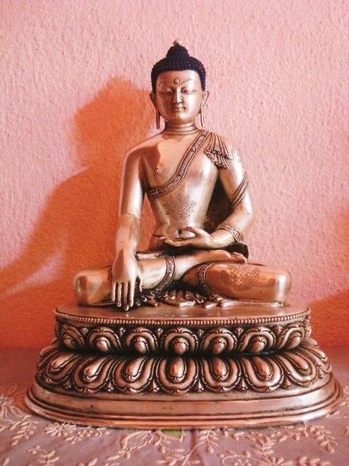 Akshobhya Dhyani Buddha Mudra