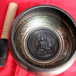 medicine buddha tibetan bowl