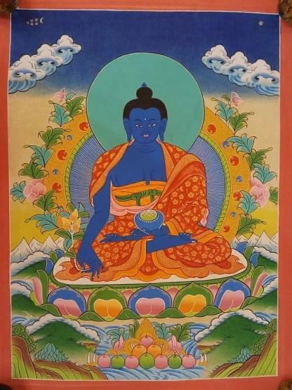 medicine buddha thangka