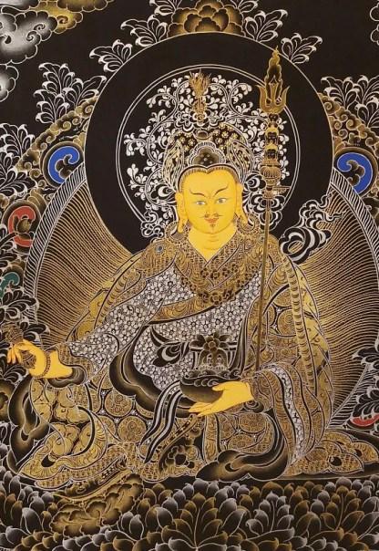 padmasambhava guru rinpoche thangka