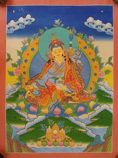 padmasambhava guru thangka