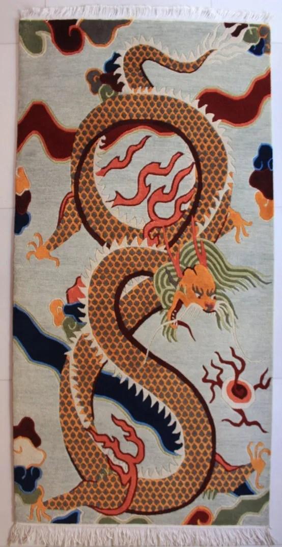 Tibetan Dragon Rug