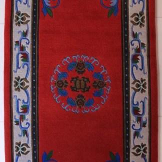 Tibetan Flower Mandala Carpet