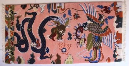 Tibetan rug dragon carpet full