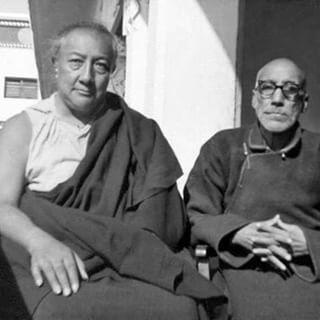 Дилго Кхенце и Кхуну Лама