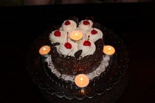 Black Forest Cake with Friends