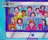 My Face Revisited : The Story of My Journey Onto Facebook