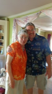 Mark and Aunt Barbara